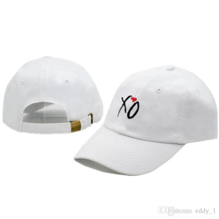 f2d51f7f555c 2018 Fashion XO Adjustable Baseball Hat The Weekend Strap Back Caps ...