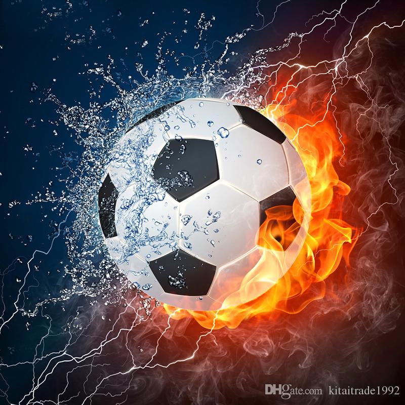 soccer paintings