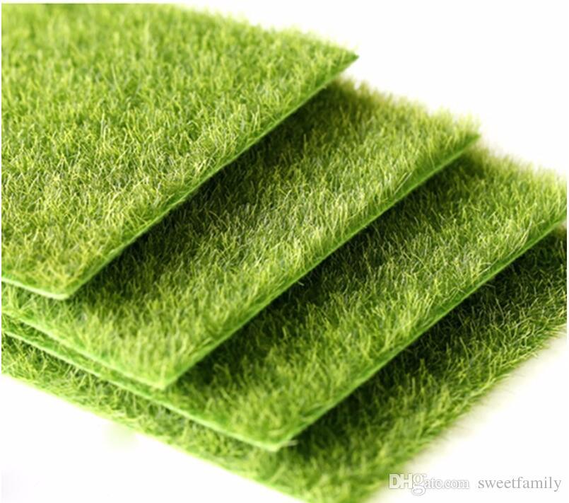 New Micro Landscape Decoration DIY Mini Fairy Garden Simulation Plants Artificial Fake Moss Decorative Lawn Turf Green Grass
