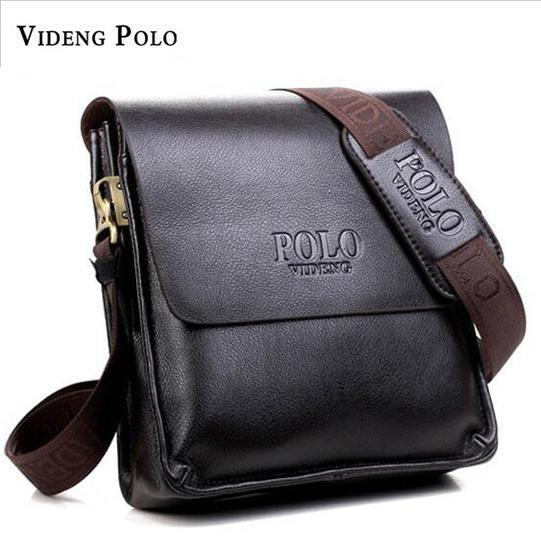 b25abb50a4 2017 Fashion Brand Videng Polo Men Bags High Quality PU Leather ...