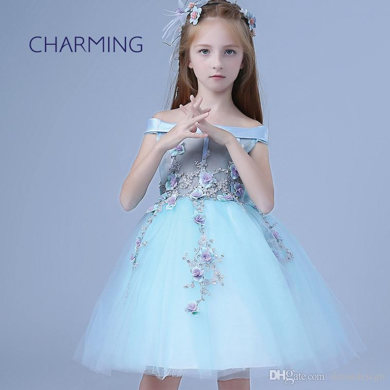 595933ef2 Beautiful Flower Girl Dresses Brand New Dresses Of Girl Girls Mint ...
