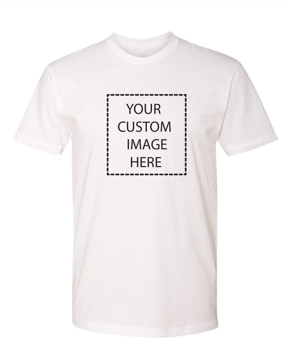 Custom T Shirt With Your Photo Text Logo Cheap Custom T Shirts