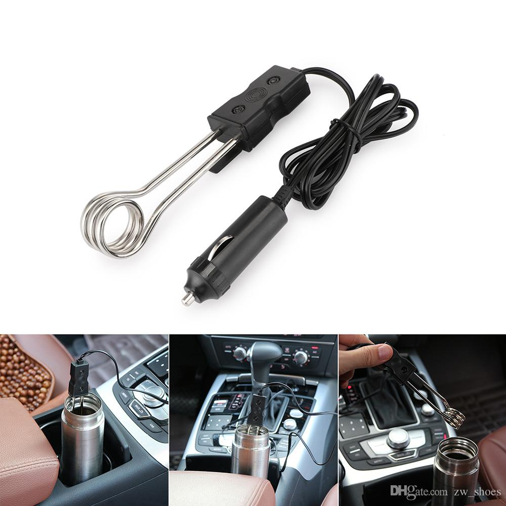 Tragbare 12 V Auto Tauchsieder Auto Elektrische Tee Kaffee Durchlauferhitzer