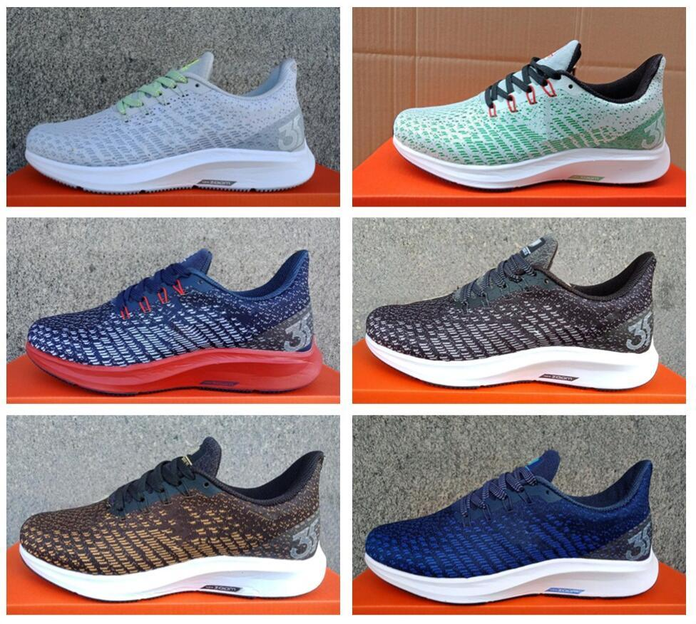 reputable site e0d81 fe4dd Compre 2018 Nuevo Zoom Lunar Landing 35 Transpirable Net Gasa Casual Shoes  Originals Zoom Pegasus 35 Turbo Lining Air Cushion Zapatos Casuales A   31.48 Del ...