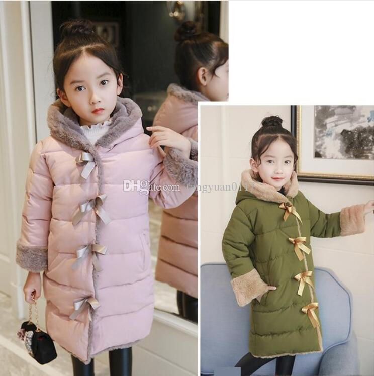 b37aec990 Kids Down Coats 2018 Winter Down Jacket Coat Thicker Warm New Fashion For  Big Children Girls Winter Jacket Doudoune Fille Toddler Girl Winter Coats  Dress ...
