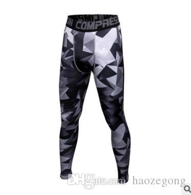 Mens Joggers Camouflage Compression Pants Men Camo Pants Tights Leggings Crossfit Trousers Brand Clothing Sweatpants Pantalon