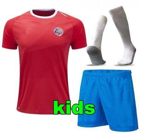 ... clearance 2018 word cup 2018 costa rica kids soccer jersey kits futebol  keylor navas youth boys caba8bc30