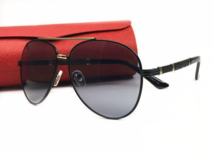0810b39fc4 2018 Luxury Designer Brands Sunglasses Polarized Sun Glasses Clear Lens  Optical Frames Men Women Pilot Eyewear Summer Style Outdoor With Box  Victoria ...