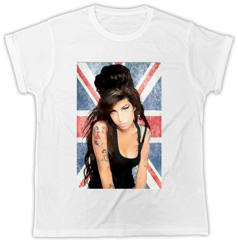 848de84f9ba Compre Amy Winehouse Camiseta Union Jack Music Tee Urban RB Camiseta Para  Mujer Para Hombre Unisex A $11.58 Del Luckytomorrow | DHgate.Com