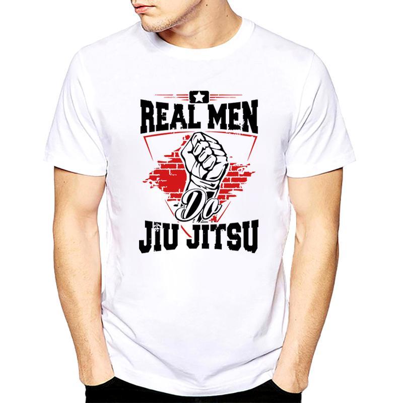 7e9f07765b Russian Real Men Do Jiu Jitsu 2018 T Shirt Mens Sale Hip Moto T Shirt  Knitted White Tee Shirt Mens Funny Men T 2018 Best T Shirt Sites T Shirt  Shopping From ...