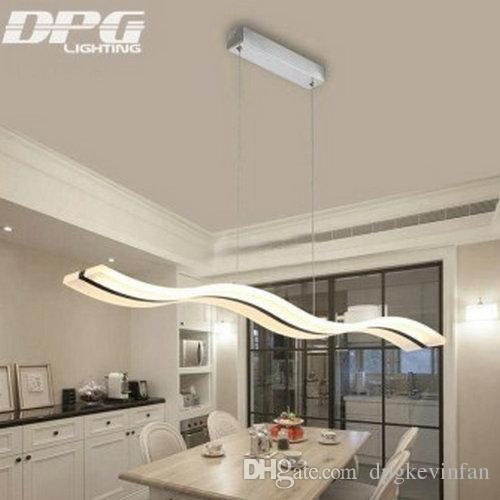 Lampes suspendues modernes à LED pour salle à manger Cuisine suspension acrylique suspension suspendue plafonnier luminaire suspendu lampes suspendues