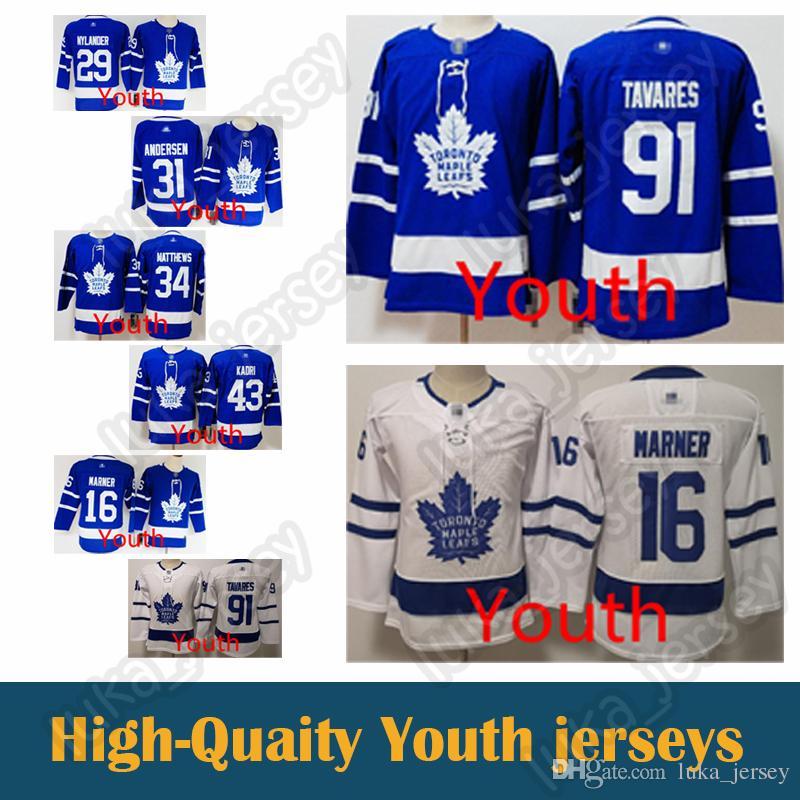 bbd496fb5d4 ... greece 2019 kid jersey toronto maple leafs 16 mitch marner youth jersey  34 auston matthews 31