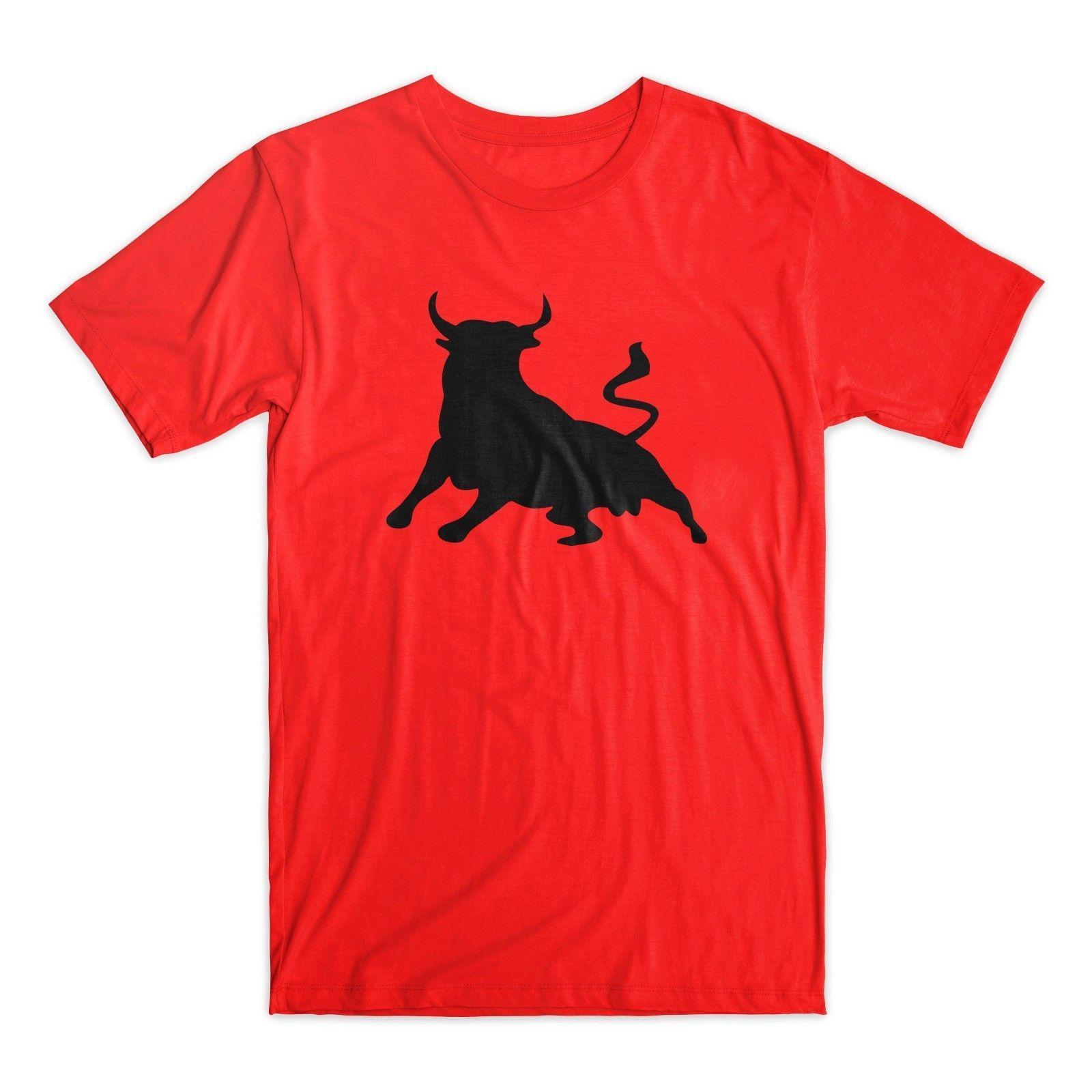 Compre Toro Español Camiseta Toro De Osborne Hombres Camiseta De Manga Corta  Cuello Redondo Nuevos Hombres Tops De Verano Casual Camisas Luz A  24.2 Del  ... 733fe1264a3