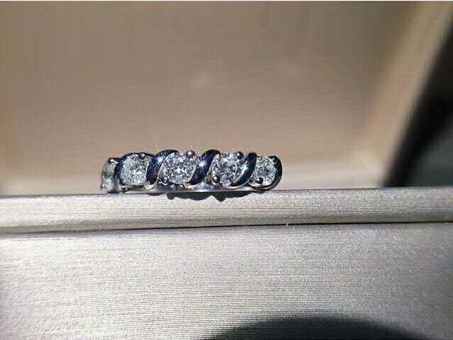 Новый стерлингового серебра 925 пробы изящных ювелирных изделий с кубическим цирконием для женщин свадебный подарок высокой полировки бесплатная доставка