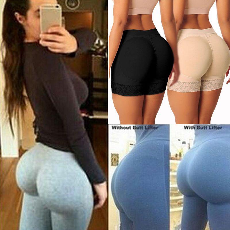 ca84c3ac62 2019 New Lady Buttock Pads Underwear Bum BuLift Hip Up Enhancer Brief  Shapewear From Balljoy