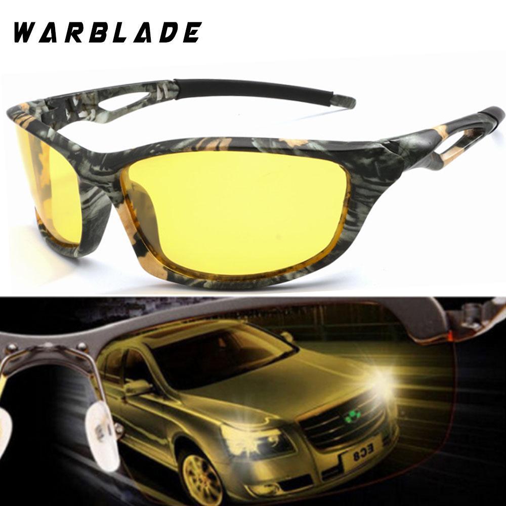 e58666dc82c Top Quality Men s Polarized Sunglasses Night Vision Yellow Lens Mirror  Coating Sun Glasses Male Night Driving Safe Eyewear 2018 Womens Sunglasses  Sunglasses ...