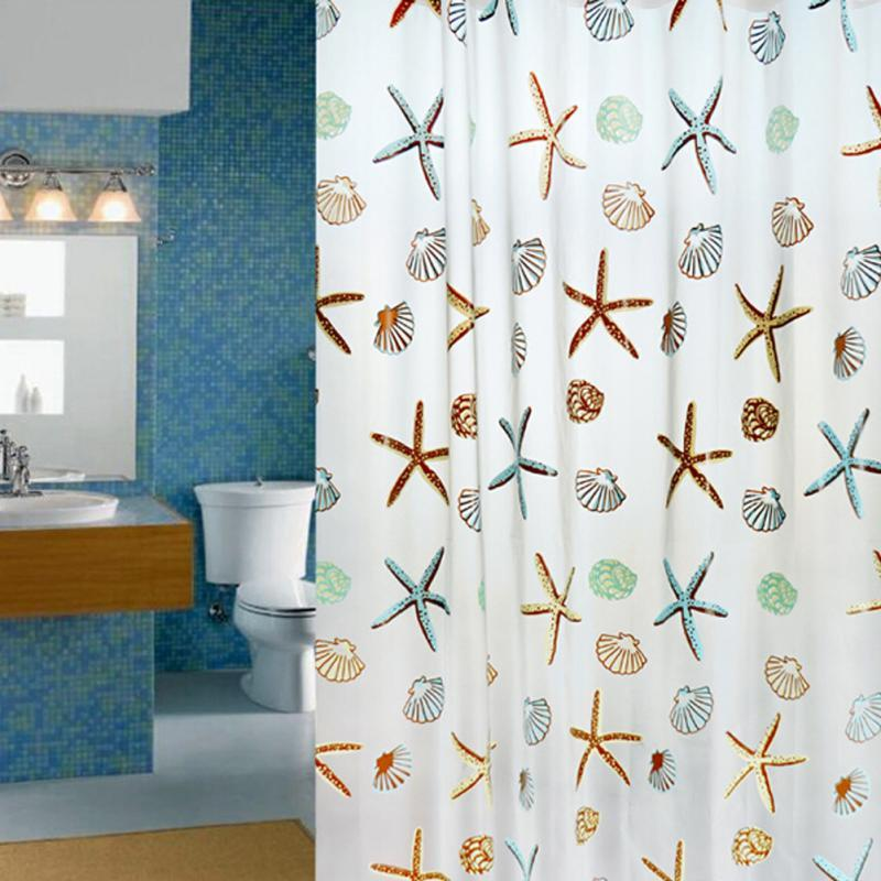 2018 180x200cm Peva Bathroom Shower Curtains Water Proof Thickening ...