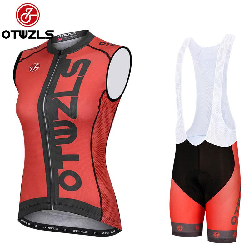 2018 Cycling Clothing Pro Team Cycling Jersey Sleeveless Women Summer  Mountain Bike Jersey MTB Vest Set Bicycle Clothing Ropa Ciclismo Retro Cycling  Jerseys ... e64bcbb7f