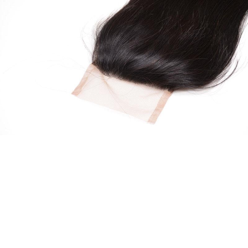 Indian virgin remy hair weft 3 bundles with closure straight closure with hair weft unprocessed hair extensions