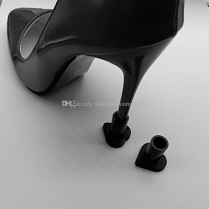 여성 신발 샌들 높은 뒤꿈치 스토퍼 뒤꿈치 프로텍터 스틸레토 댄스 신발 핀
