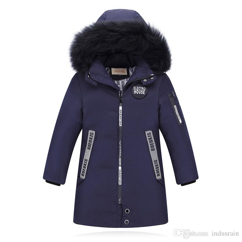 92033710e 30 Degree High Quality New Boy S Long Down Jackets For Youth ...