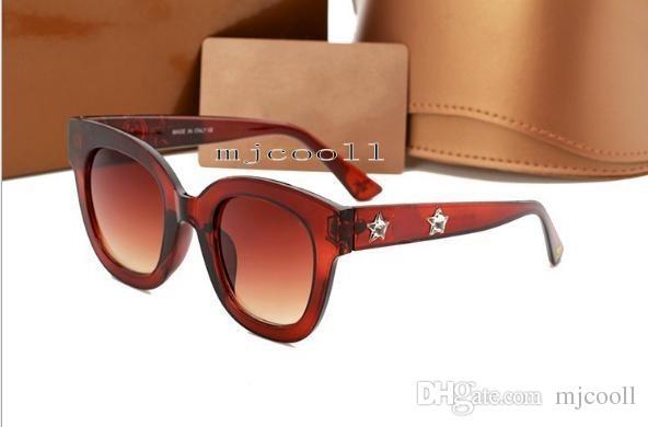5d72a7a761 Compre Gafas De Sol De La Abeja De Las Mujeres De Calidad Superior 0208  Gafas De Sol De Las Gafas De Moda De Las Gafas Con La Caja Original A  $15.08 Del ...