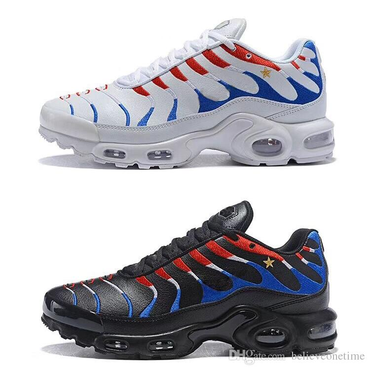 edb02fc71843e With Box Kylian Mbappe Plus TN Men Women Running Shoes White Black Mbappé  World Cup Champion Sports Trainers Designer Sneakers Size 36 46 Good Running  Shoes ...