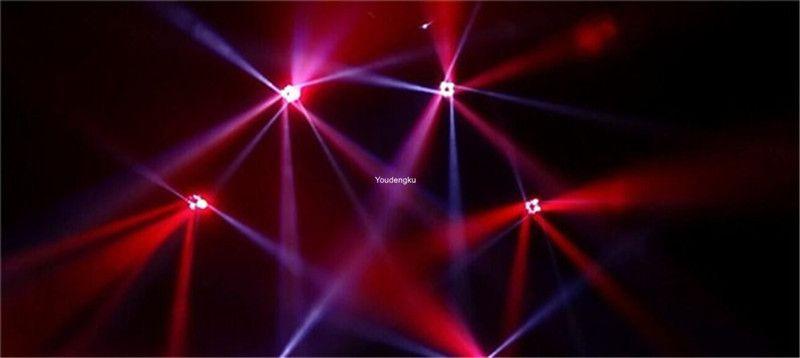 / ha condotto la luce commovente della testa 4 * 25w dmx 512 illuminazione del fascio 4x25w luce commovente della testa mobile del fascio eccellente