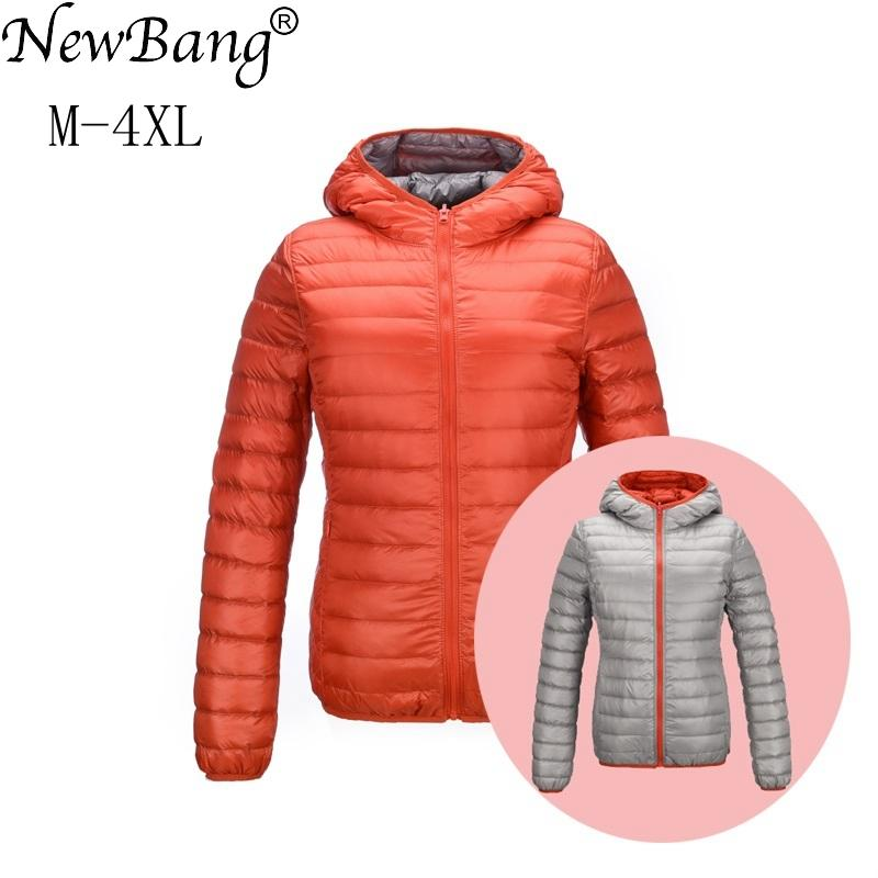 Ultra Light Mujer Chaquetas Newbang Chaqueta Brand Down Compre F0fYw