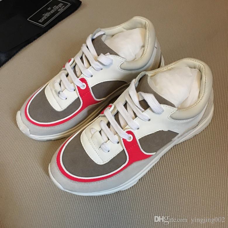 53e32938a7e Compre Novo Estilo De Qualidade Superior Modelo Rainha Sapatos Venda Quente  Marca Homens E Mulheres De Couro Genuíno De Alta Qualidade Sapatos Frete  Grátis ...