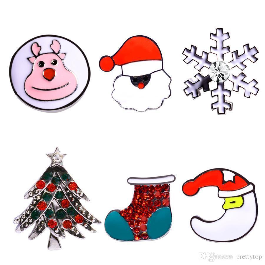 Großhandel Gewohnheit Knöpft Heißen Schmuck Weihnachtsschneemann ...
