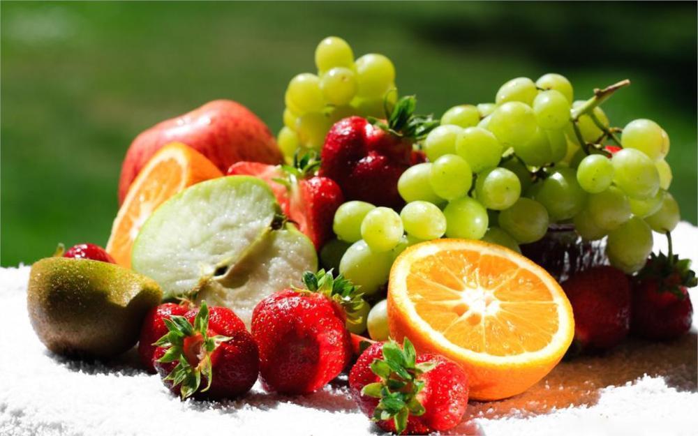 Satın Al özel Teklif Gıda Karışık Taze Meyve çerçevesiz Sprey Boyama