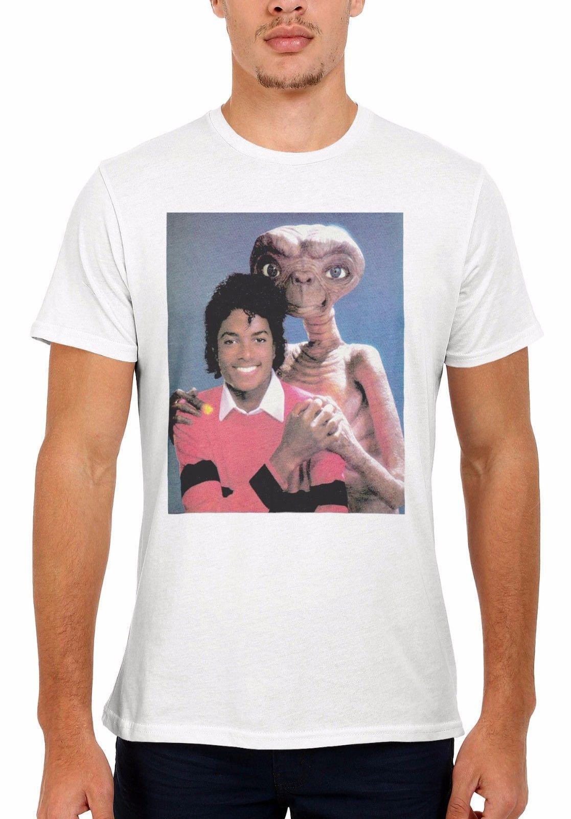 19e8df257 Alien E.T. Hugs Michael Jackson Men Women Vest Tank Top Unisex T Shirt 2037  Online Shopping For T Shirt Silly Tee Shirts From Linnan00004, $14.67|  DHgate.