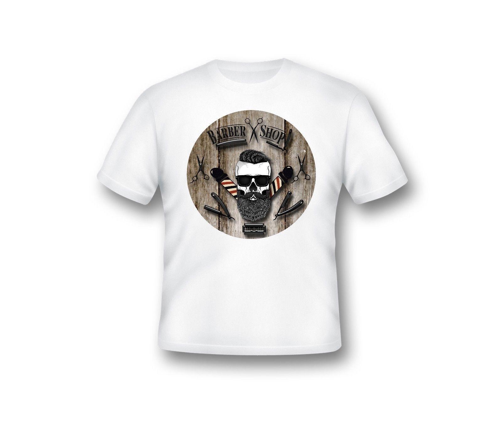 Salon de Coiffure T-Shirt, modernes Hemd, homme, Barber vêtement, 64