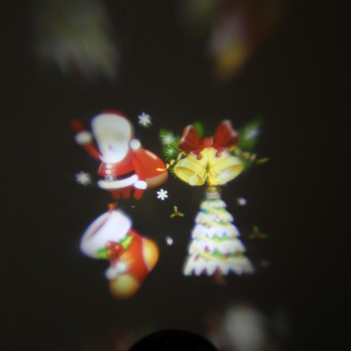Lampade proiettore laser impermeabili Lampada da palcoscenico a LED Lampada da giardino esterni Paesaggio natalizio Lampada esterni / carta
