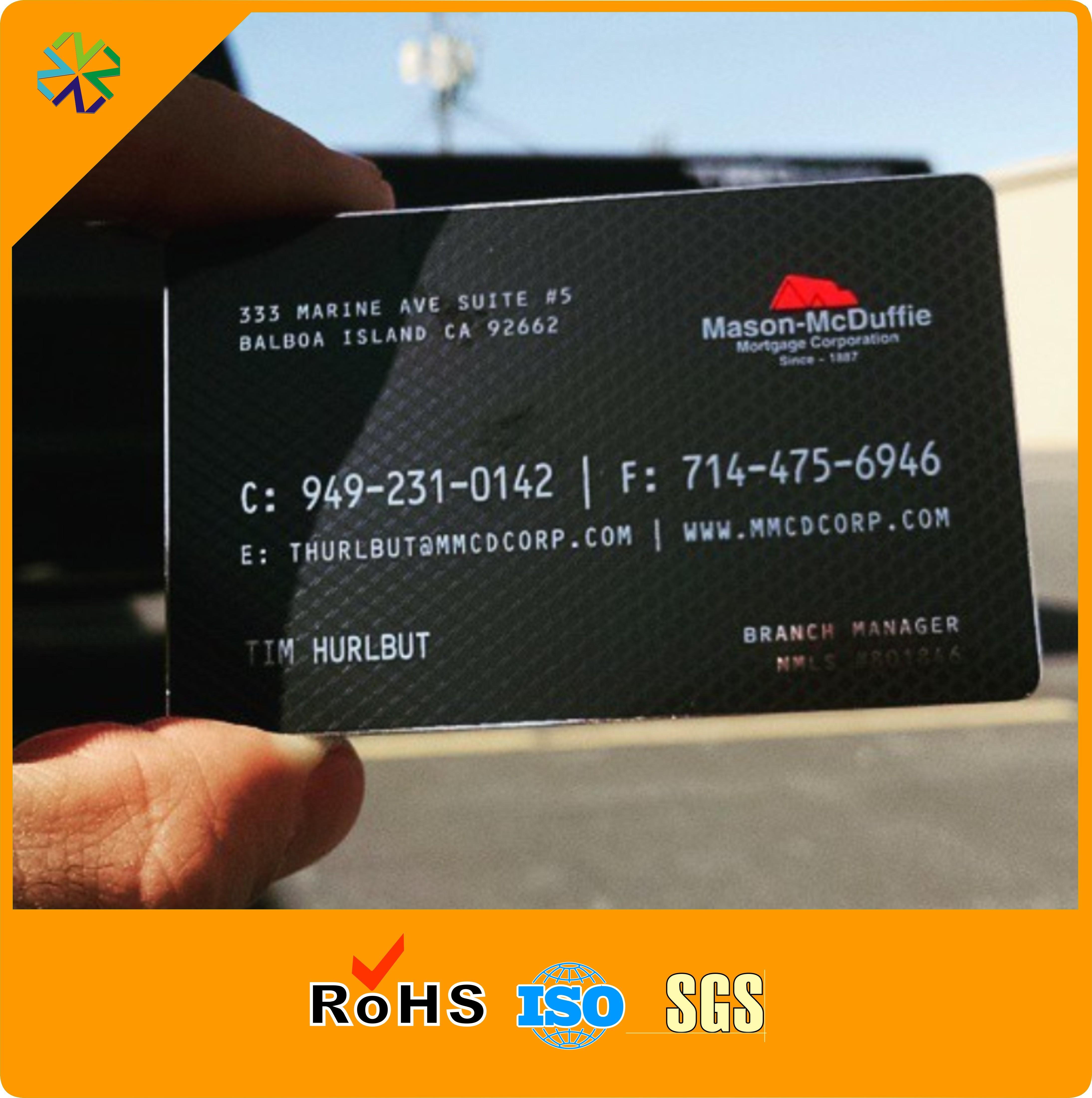 Acheter Fabricant Pas Cher En Metal Carte De Visite Acier Inoxydable 16674 Du Vingyuan