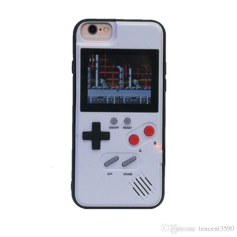 6e207196b71 Mini Handheld Game Consoles Silica TPU Phone Case Protective Sleeve Retro  Classic Game Console 36 Games For Iphone678 Plus XR XS Max Cheap Cell Phone  Cases ...