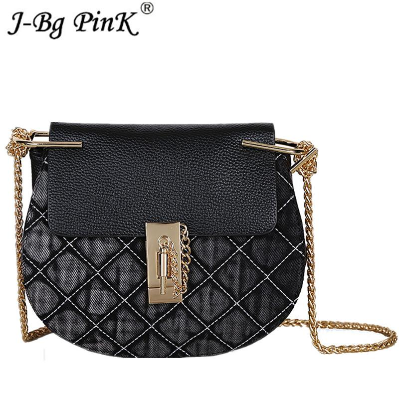 92434f2a6055 Luxury Designer Jeans Small Bags Women Denim Chain Crossbody Bags For Women  2018 Women S Handbags Shoulder Messenger Female Ladies Purses Fashion Bags  From ...