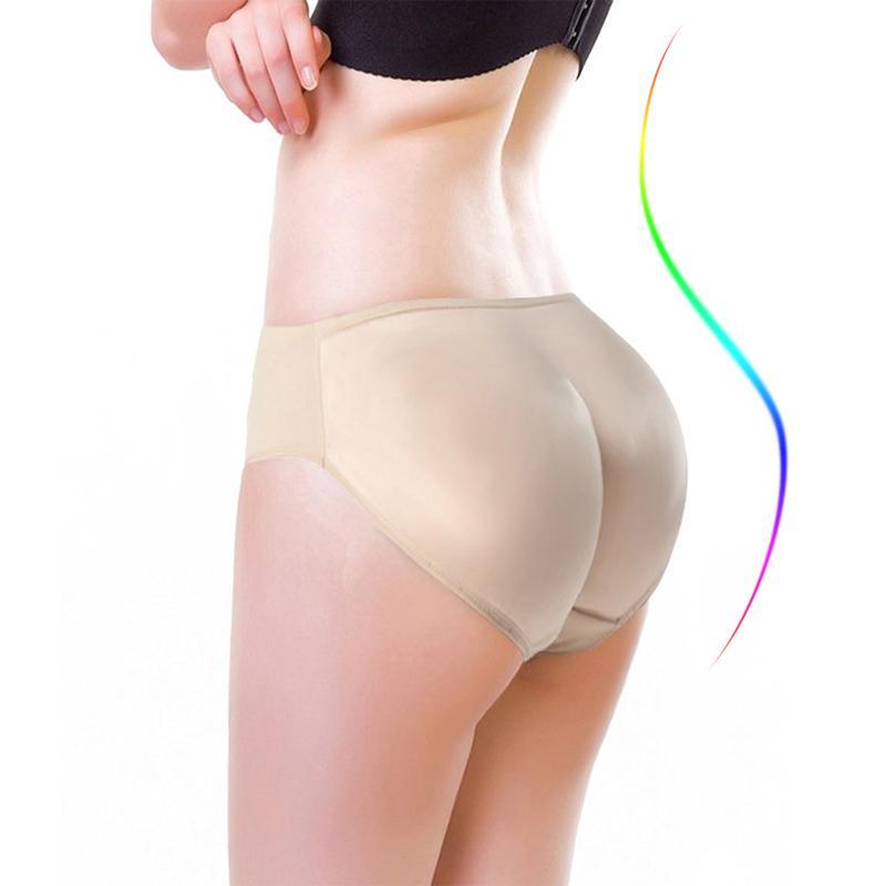 2361e220c 2019 NINGMI Hot Shaper Pant Boyshort Push Up Panties Women Fake Ass  Underwear Fake Butt Pad Buttock Shaper Butt Lifter Hip Enhancer From Zhusa