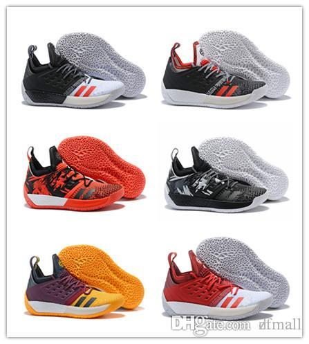 low priced 784c6 68cd9 Cheap 2018 NEW Arrival James Harden 2 Vol.2 Men s Basketball Shoes Wolf  Grey Sports Basket Ball Sneakers Training Best Size US 7-11