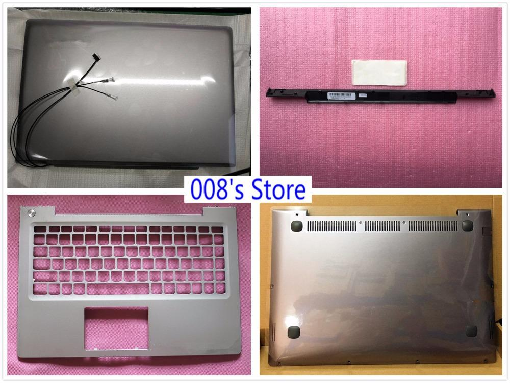 a49ee478b84e New Laptop LCD Top Back/Front Bezel/Bottom Base Case Cover For Lenovo  IdeaPad U330 U330T Touch Strip Shaft Keyboard Bezel Switch