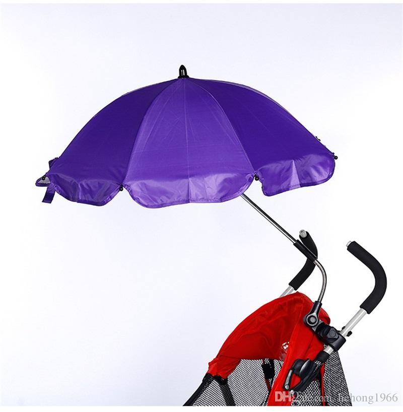 Creative Baby Handcart Umbrella Proof Easy To Use Child Parachute Silver Colloid Sunshade Portability Sunscreen New Arrival 17xx Y