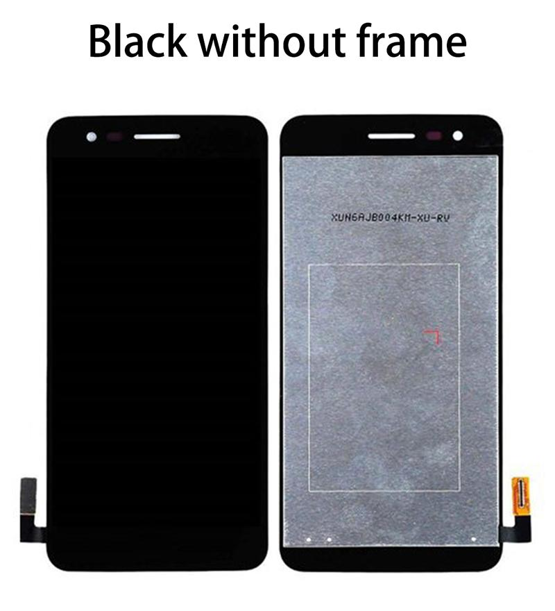 For LG K4 2017 Touch Screen Digitizer LCD Display With Frame Full Assembly M160 X230 Full LCD Screen Repair Parts + Repair Tool