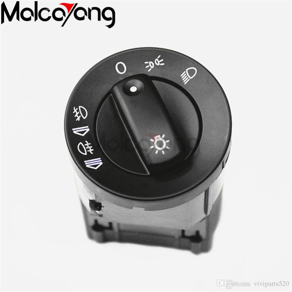 2018 New Headlight Control Head Light Switch Fit For Audi A4 S4 B6 ...