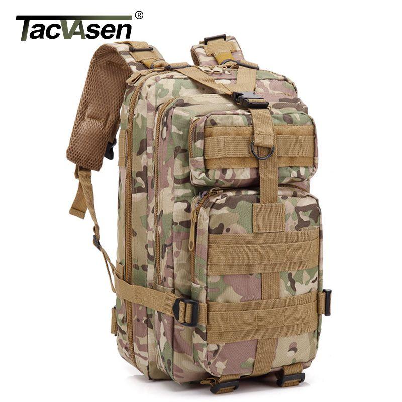 TACVASEN 3P Waterproof Camouflage Bag Men Women Army Backpack 30L Travel  Knapsack Oxford Molle Back Back TD GZBL 001 Back Packs Rolling Backpacks  From ... 62891bcbac