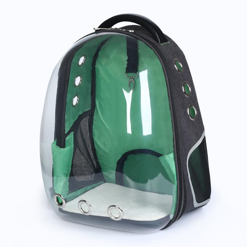 109e694313 Dog Cat Backpack Space Capsule New Pet Space Cat Pack Chest Half Full  Transparent Backpack Dog Creative Shoulder Pet Bag Best Price Pet Supplies  Buy Cheap ...