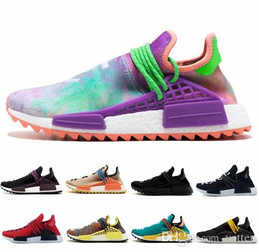 2018 New NMD Human Race TR Men Women Running Shoes Pharrell Williams Nmds  Human Races Pharell Williams Mens Womens Trainers Sports Sneakers Sports  Shorts ... df40afaf9c