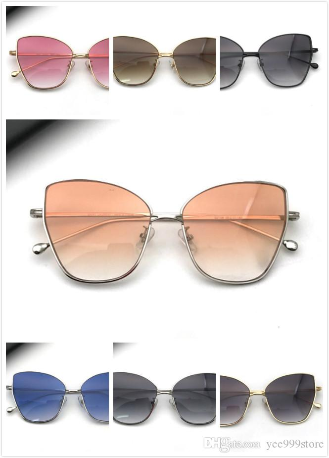 3f7b55339 Hot Sale New Fashion Cycling/Beach Designer Sunglasses Women Vs L Brand  Retro Classic Polarized Lens Butterfly Metal Cat Eye Frame Goggle Super  Sunglasses ...