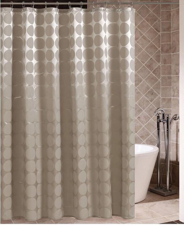 Großhandel Fyjafon Badezimmer Duschvorhang Polyester Stoff Bad ...