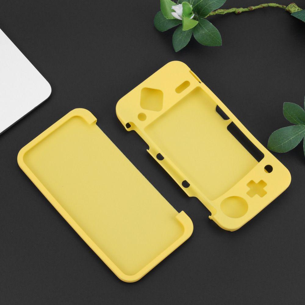 Funda de silicona con es para cubierta de silicona fina para Nintendo 2DS XL / 2DS LL Game Console Casos de juegos